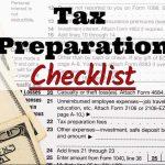MJM Income Tax's 2017 Tax Preparation Checklist